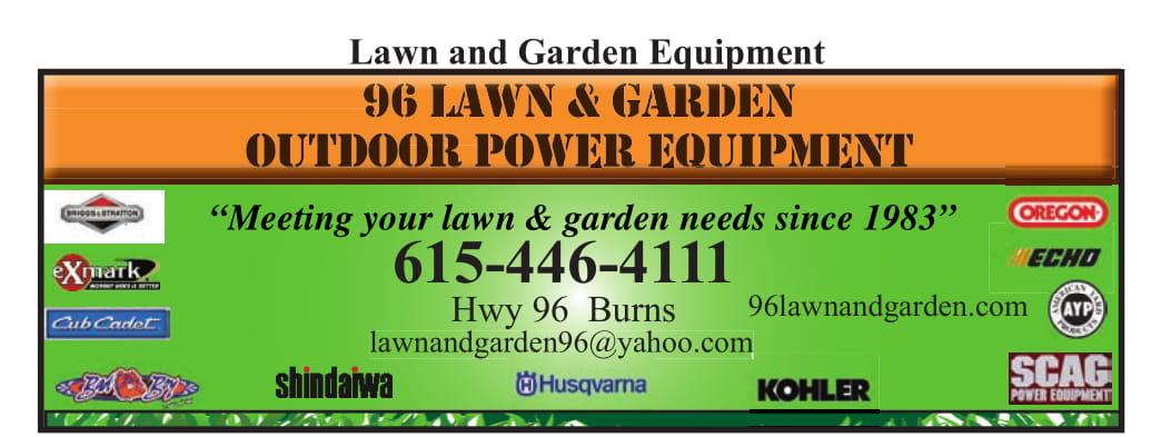 96 Lawn & Garden