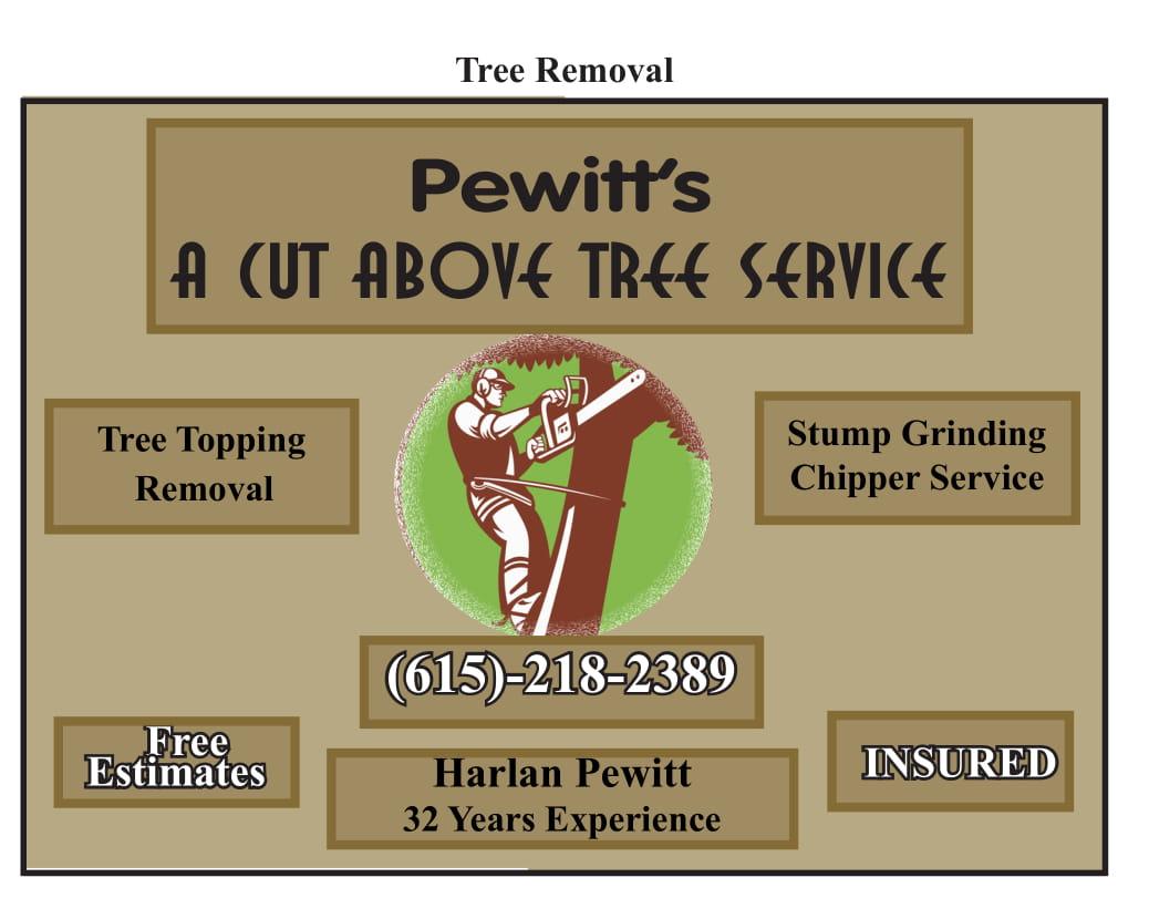 Pewitt's A Cut Above Tree Service