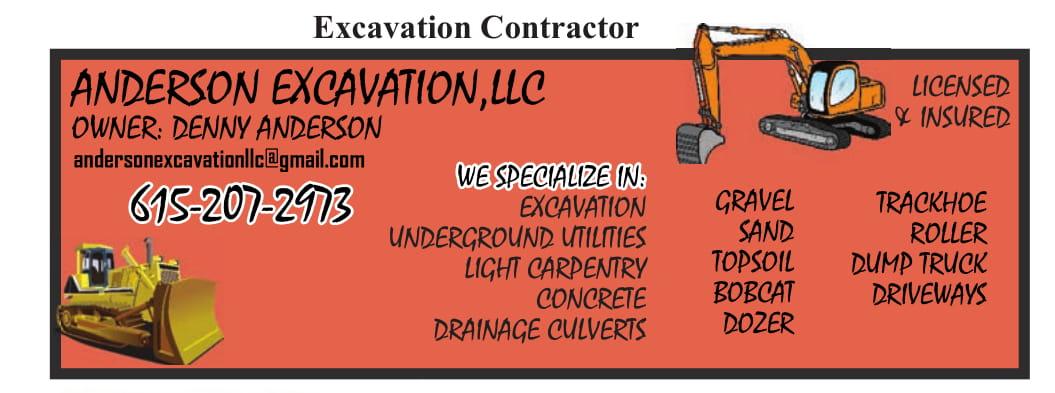 Anderson Excavation
