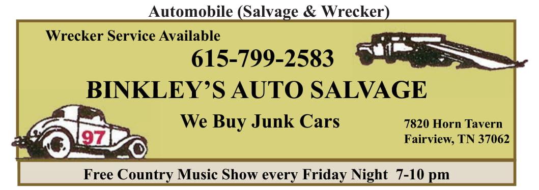 Binkley's Automobile Salvage