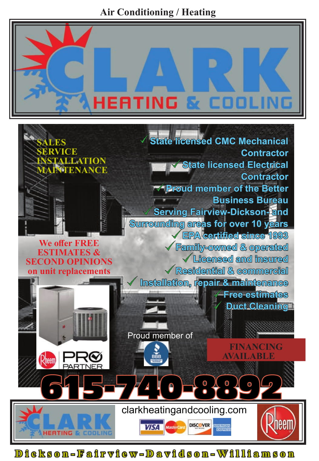 Clark Heating and Cooling