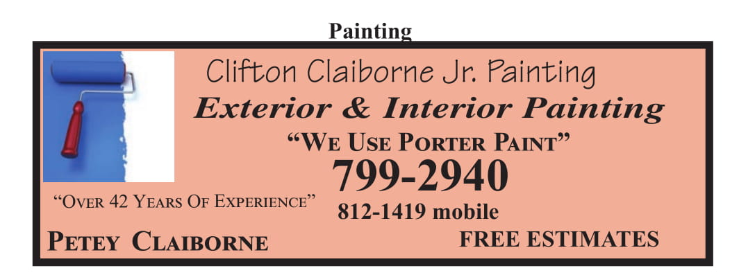 Clifton Claiborne Jr. Painting