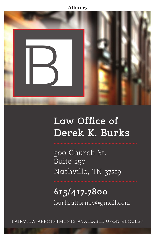 Law Office of Derek Burks