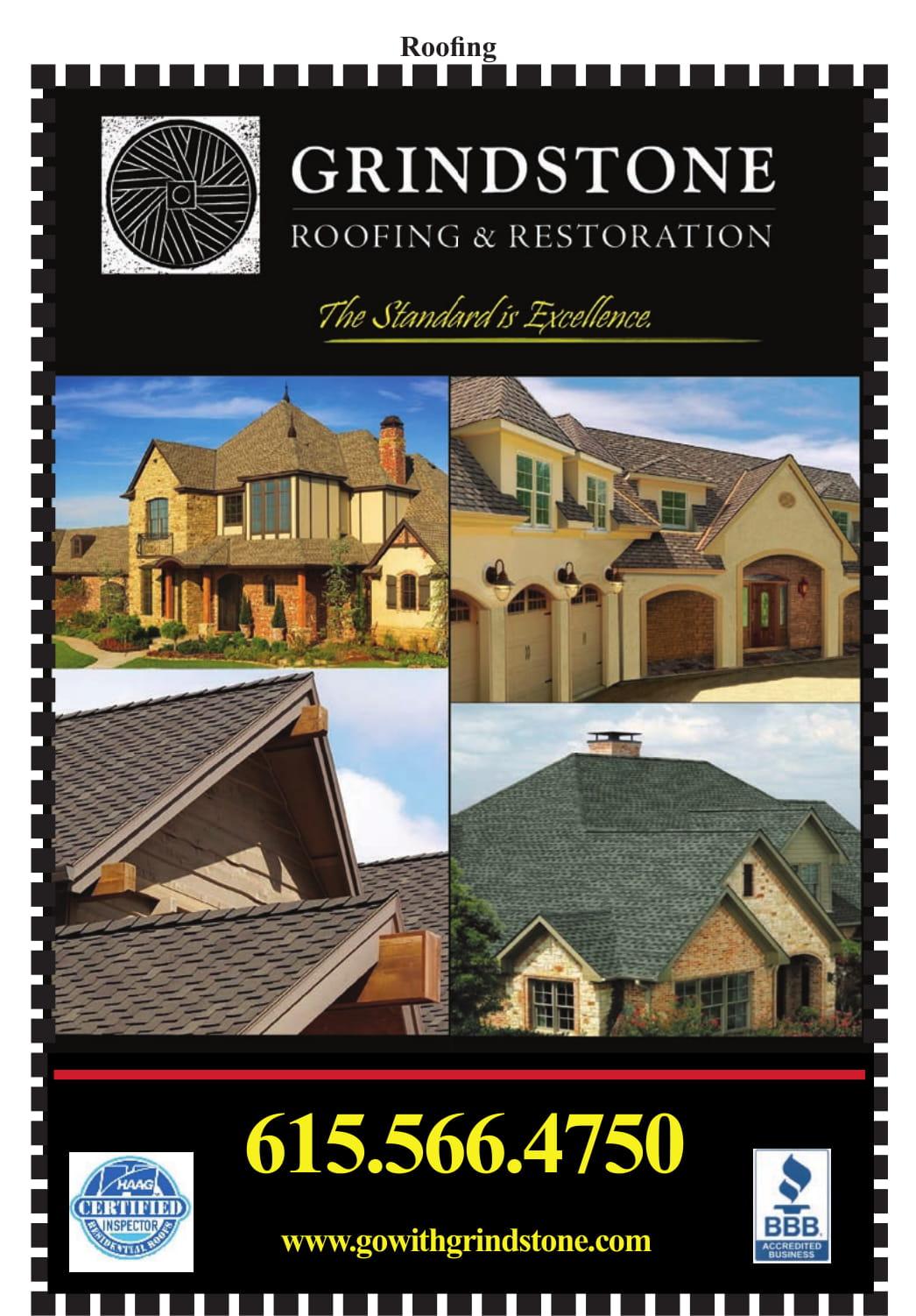 Grindstone Roofing and Restoration