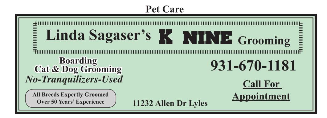 Linda Sagaser's K-Nine Grooming
