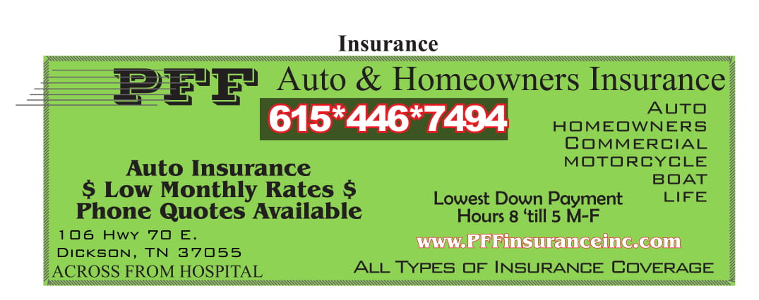 PFF Auto and Homeowners Insurance