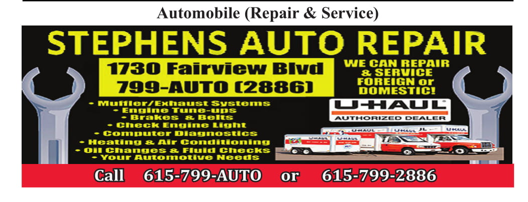 Stephen's Tire & Auto Repair