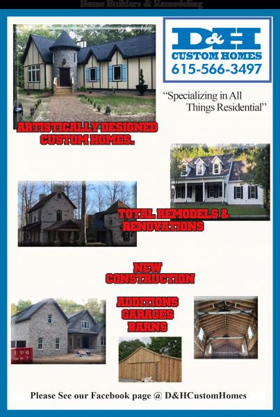 D & H Custom Homes