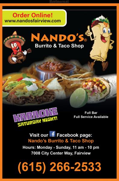 Nando's Burrito & Taco Shop
