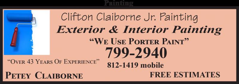 Clifton Claiborne Jr. Painting