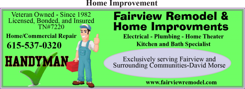 Fairview Remodel & Home Improvements