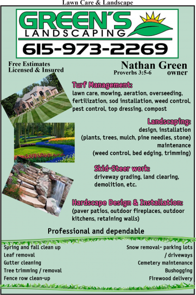 Green's Landscaping