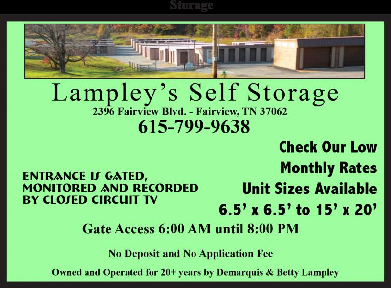Lampley's Self Storage