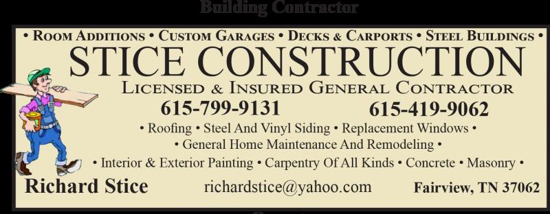 Stice Construction