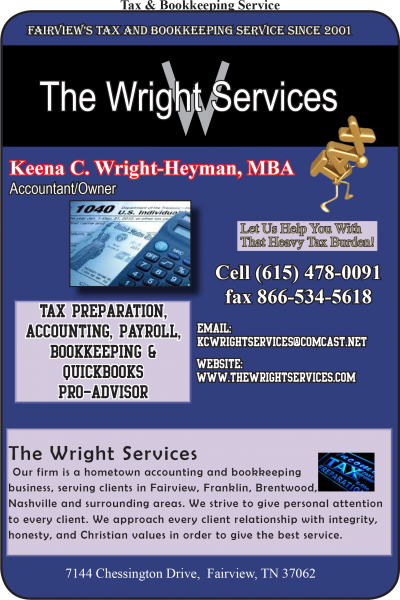 The Wright Services – Keena C Wright-Heyman, MBA