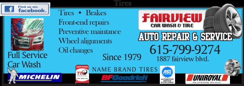 Fairview Car Wash & Tires
