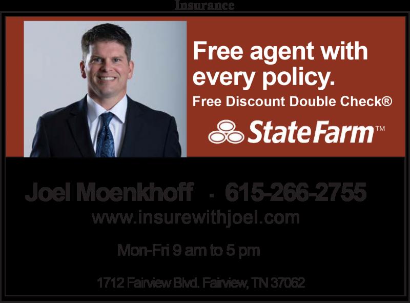 Joel Moenkhoff – State Farm