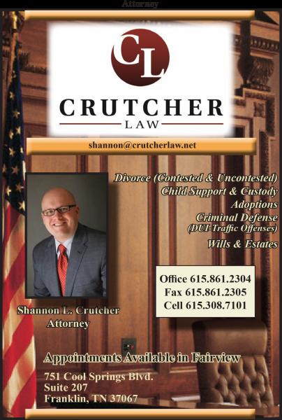 Crutcher Law