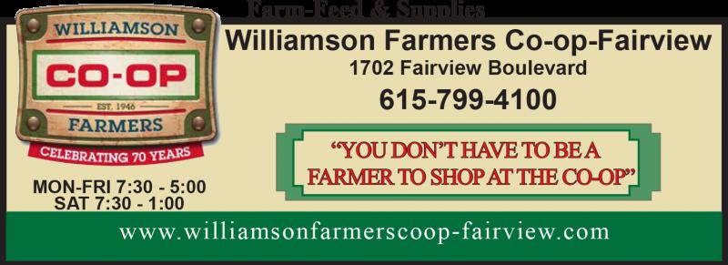 Williamson Farmers Co-op Fairview